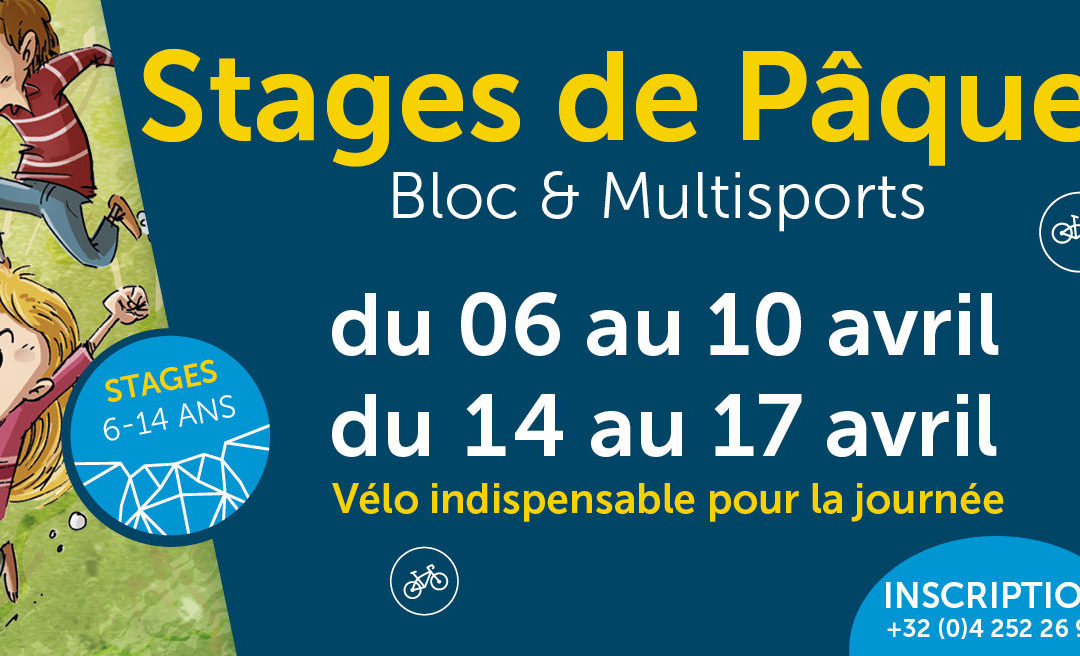 Stage Pâques 2020